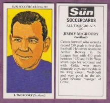 Scotland Jimmy McGrory Glasgow Celtic